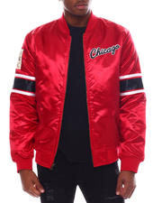 Athleisure - CHICAGO BULLS Heavyweight Satin Jacket-2580161