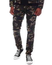 Fall-Winter - Rip with Backing Camo Pants-2580189