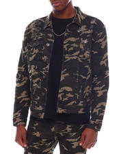 Fall-Winter - Camo Print Twill Jacket-2580243