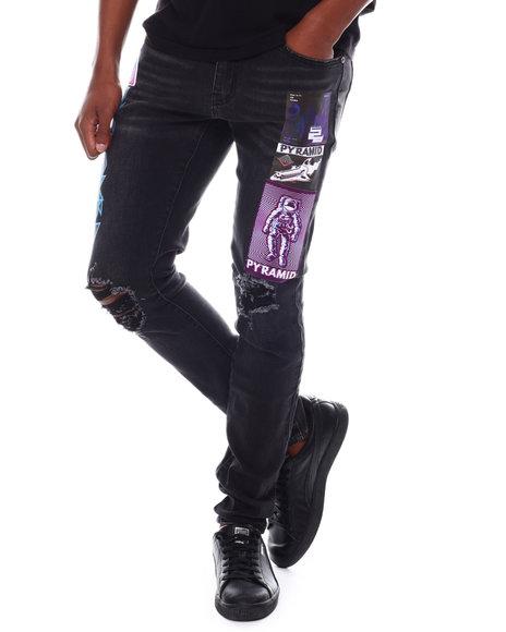 Black Pyramid - Space Error Denim Jeans
