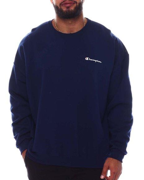 Champion - Small Script Chest Crewneck Sweatshirt (B&T)