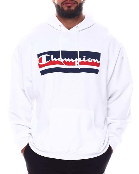 Champion - Vertical C Hoodie Sweatshirt (B&T)