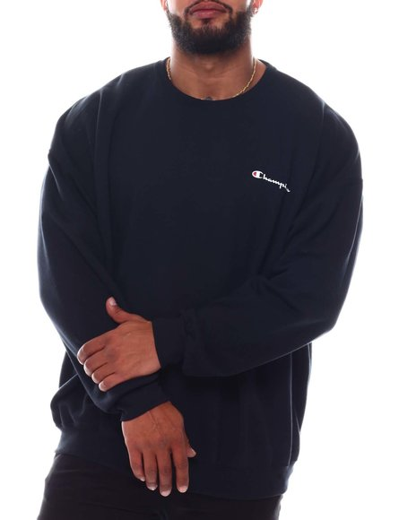 Champion - Small Script Chest Crewneck Sweatshirt (B&T)