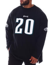 Mitchell & Ness - Eagles Brian Dawkins Long Sleeve Shirt (B&T)-2580756