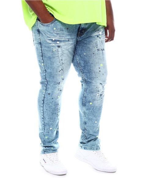 Buyers Picks - Paint Splatter Distressed Jeans (B&T)