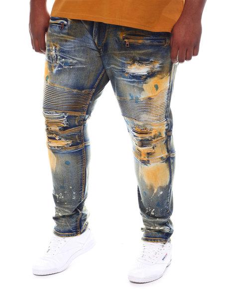 Makobi - Shredded Biker Jeans (B&T)