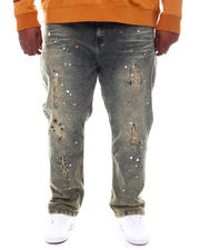 Jeans & Pants - Paint Splatter Distressed Jeans (B&T)-2580675