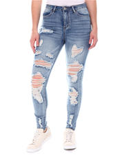 Almost Famous - Distressed High  Waist Jeans-2579033