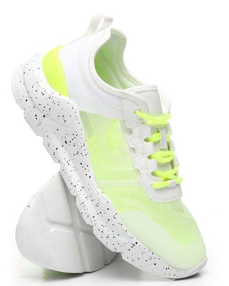 Fashion Lab - Sheer Side Sneakers
