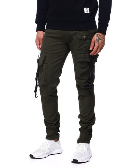 SWITCH - Cargo Pant w Buckle Detail