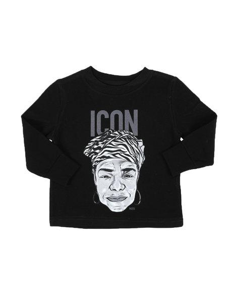 COOL - Long Sleeve Maya Angelou T-Shirt (2T-6T)
