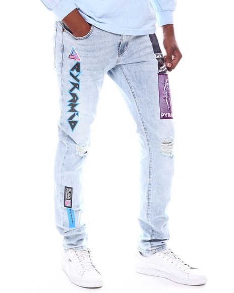 Black Pyramid - Space Error Denim Jeans