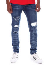 Buyers Picks - Ripped Jean w Crystal Backing-2581152