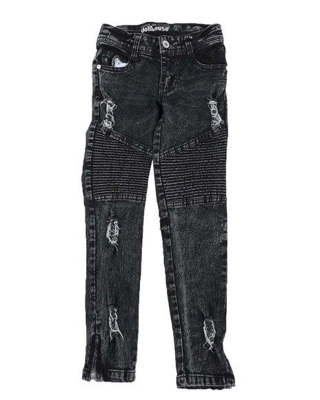 Dollhouse - Skinny Moto Jeans (7-16)