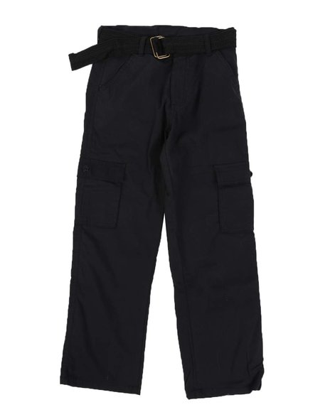 Arcade Styles - Belted Canvas Pants (8-16)