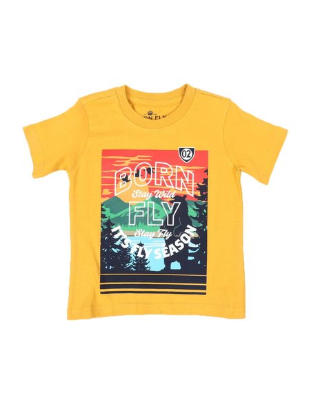 Born Fly - Fly Season Graphic Tee (2T-4T)