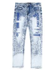 Jeans - Verbiage Acid Wash Jeans (8-18)-2580541