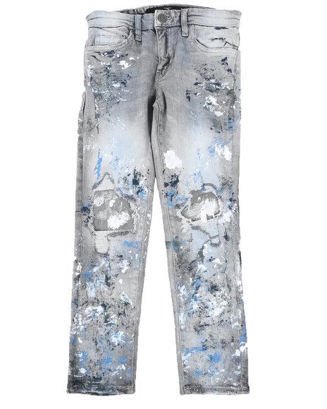 Jordan Craig - Ripped Paint Splatter Jeans (8-16)