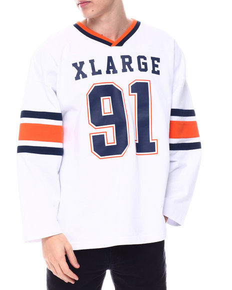 X-LARGE - L/S WIDE FOOTBALL TEE