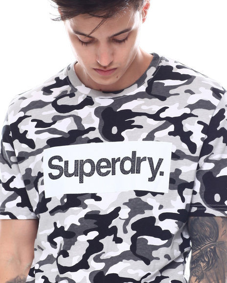 Superdry - CL CAMO TEE