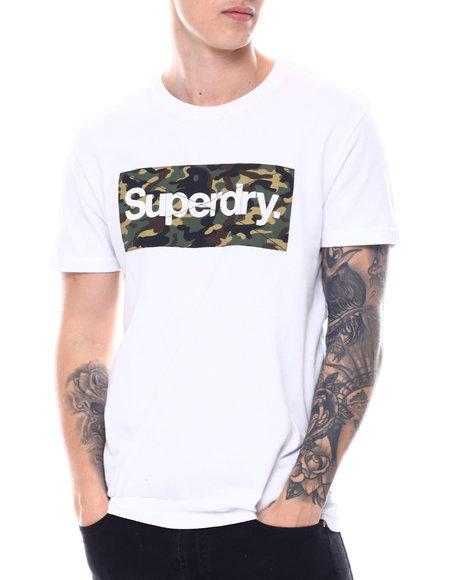 Superdry - CL CAMO Box Logo TEE