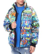 Outerwear - Graffiti Wall Down Jacket-2582307