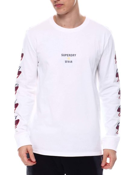 Superdry - SPORTSTYLE GRAPHIC LS TEE