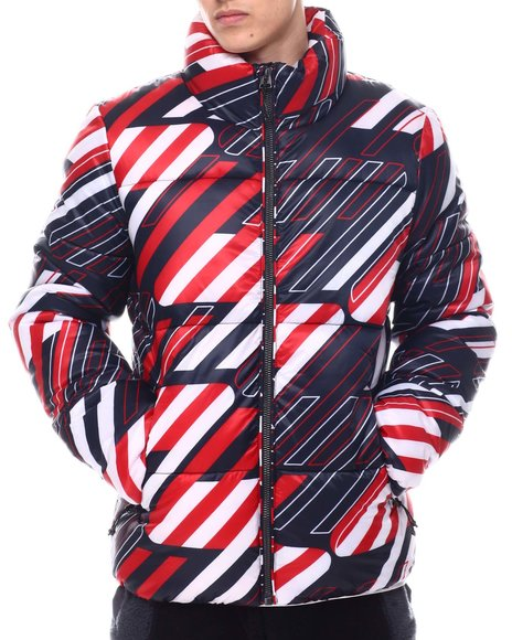 Superdry - Abstract SPORTSTYLE PUFFER