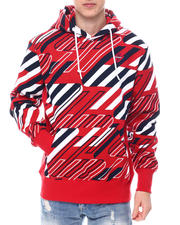 Superdry - RED AOP SPORTSTYLE GRAPHIC HOOD-2582253