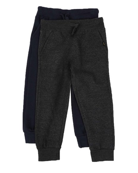 Lee - 2 Pack Fleece Jogger Pants (4-7)
