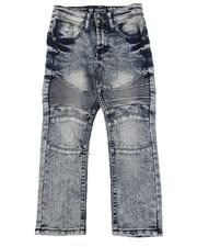 Jeans - Stretch Moto Jeans (4-7)-2581877