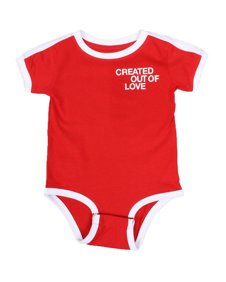 COOL - Created Out Of Love Contrast Onesie (Infant)