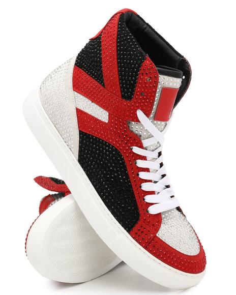 Buyers Picks - Granville Hi Top Crystal Sneakers