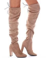 Footwear - Over The Knee Fashion Boot-2582362