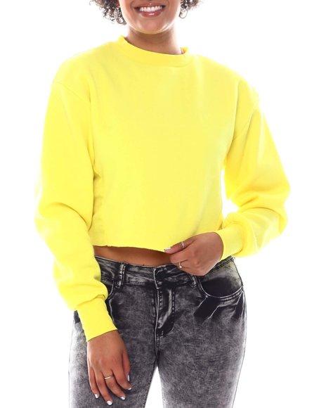 Fashion Lab - Basic Fleece Crop Top