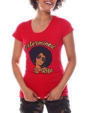 Women - Determined Print Tee-2582654