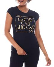 Tops - Only Good  Foil  Print Tee-2582739