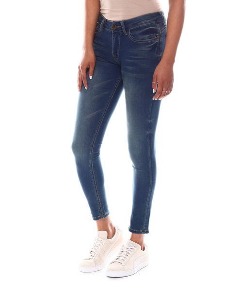 Fashion Lab - Mid rise Whisker Super Soft Rayon Jean