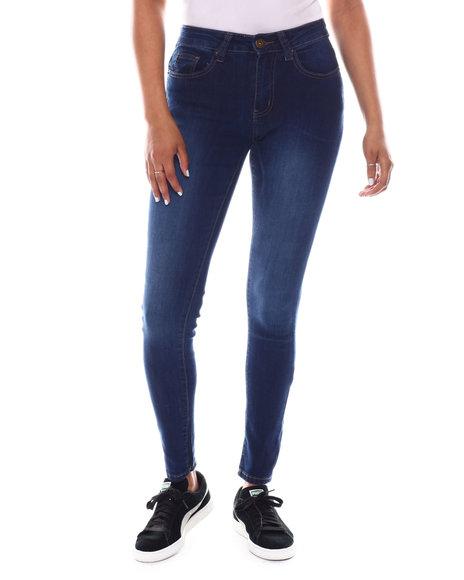 Fashion Lab - Sand Blast Basic Skinny Jean