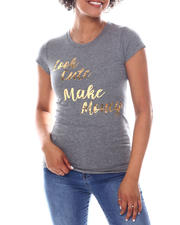 Women - Look Cute Foil  Print Tee-2582506