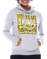 Fashion Lab - Savage Printed Hoodie-2582891