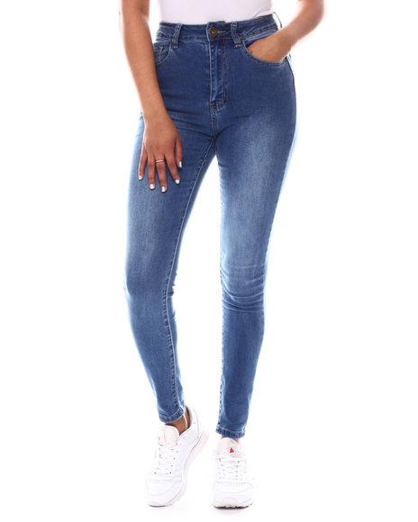 Fashion Lab - High Waist Denim Jeans