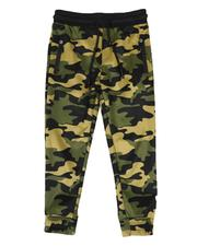 Activewear - Camo Printed Scuba Pants (8-18)-2579573