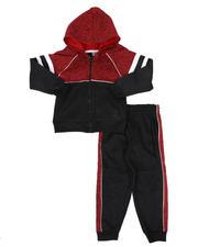 Boys - Color Block Zip Up Hoodie & Jogger Pants Set (4-7)-2577837