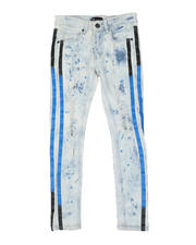 Arcade Styles - Taped Side Destructed Jeans (8-20)-2581922