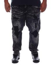 Makobi - Shredded Jeans With Bleach Spots (B&T)-2582385