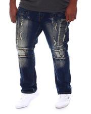 Makobi - Makobi Moto Side Biker Jeans (B&T)-2583229