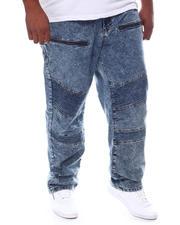Akademiks - Moto Jeans With Zipper Detail (B&T)-2581782