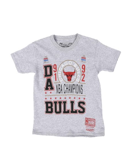 Mitchell & Ness - Da Bulls 91/92 Champs T-Shirt (8-20)