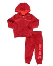 Boys - 2 Pc JDI Therma Dri-Fit Full Zip Hoodie & Jogger Pants Set (2T-4T)-2579257
